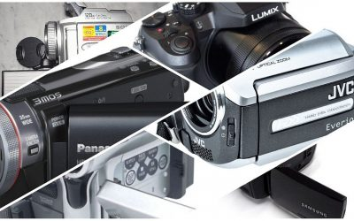 My journey through the history of camcorders