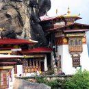 The holy Taktsang Lhakhang (Tiger's Nest)