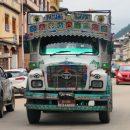 The city of Paro, Bhutan