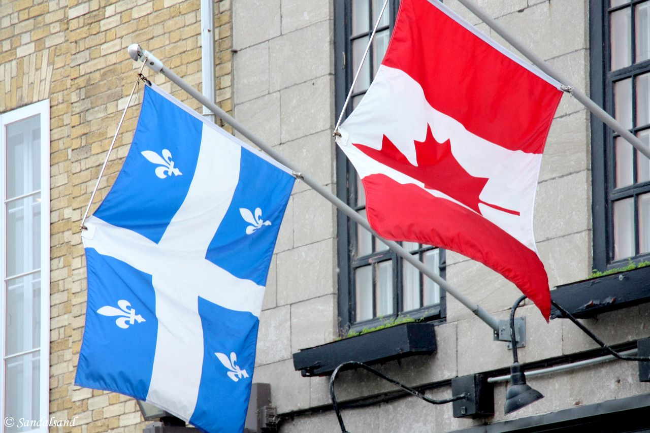 Quebec City is in Canada, but looks and sounds European