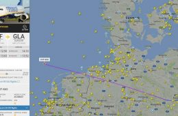 Where's that plane heading?