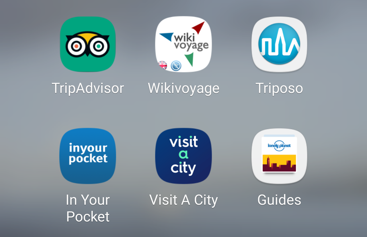 Travel apps – Maps, navigation and guides